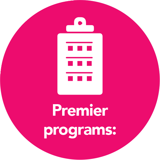 Premier Programs Includes: