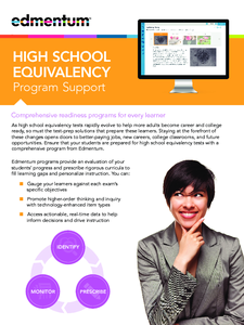 High School Equivalency Program Support image.