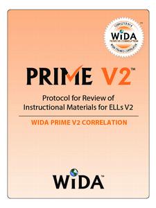 Exact Path and WIDA PRIME V2 Correlation image.