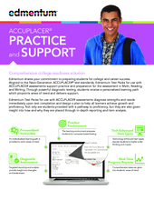 ACCUPLACER® Practice and Support | Edmentum